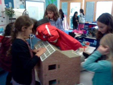 Fitzjohn's eco mini house.