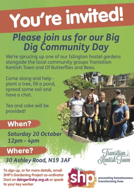 Big Dig Community Poster