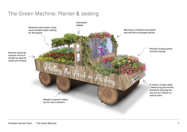 Green Machine gardening construction
